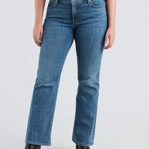 Levi's 415 Relaxed Bootcut Denim Jeans
